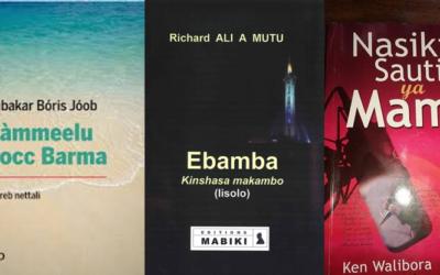 Découvrez des romans en bambara, wolof, lingala,…