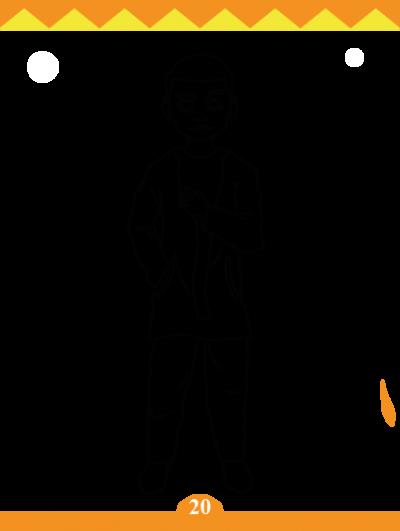coloriage-personnage-bambara-afrilangues